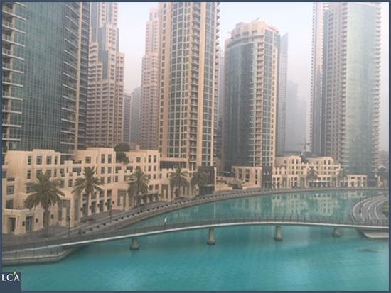Matinée à Dubaï