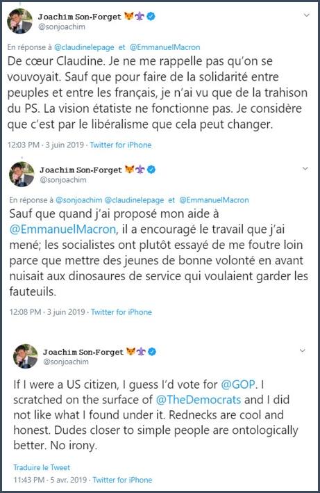 Tweets JSF