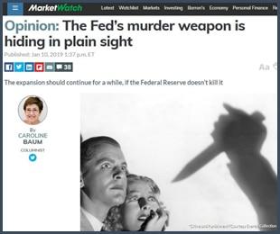 MarketWatch : l'arme mortelle de la Fed se cache en plein jour